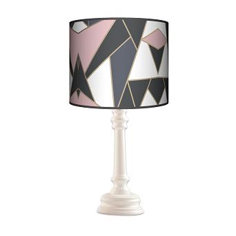 Lampa Queen Mozaika pastel kolor podstawy do wyboru FL